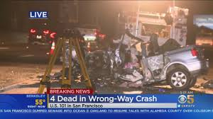 Victims in wrong-way Highway 101 crash ...