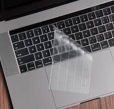 2020 Macbook Pro 13 15 Inch Touch Bar Keyboard Skin Case Mkc03 Cheap Cell Phone Case With Keyboard For Sale