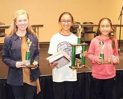 Spelling Bee Winners Grade 5 through Grade 8 | Multimedia |  harrisondaily.com