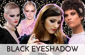 wear black eyeshadow in fall 2016