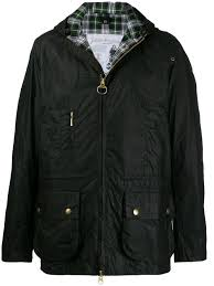 barbour waxed cotton jacket farfetch