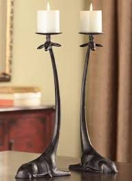giraffe pillar candle holders 33796