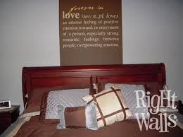 Love Definition Family Wedding Wall Decals Vinyl Art Stickers