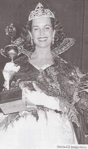Dorothy Johnson winning Miss Oregon 1955 | Garden Home History Project