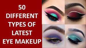 types of eye makeup looks saubhaya makeup