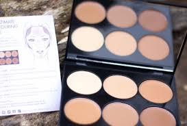 cream contour kit contouring palette review