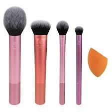 everyday essentials 5 piece brush set