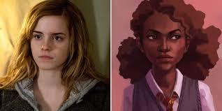 hermione granger was white