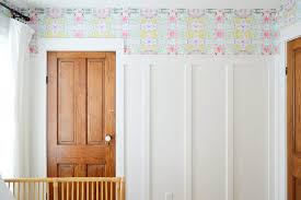 how to hang l stick wallpaper on
