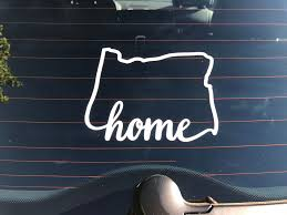 Oregon State Home Decal