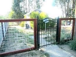 Hog Wire Fence Wire Panel Fence Hog Wire Fence Ideas Bull Wire Fence Fence Iron Fence Tin Fence Cedar Fence Best Wi Hog Wire Fence Backyard Fences Fence Design