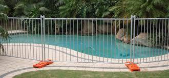 Temporary Pool Fences Fencing Perth All Fence U Rent