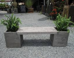garden planter box benches ellis