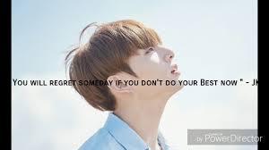 bts inspirational quotes