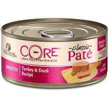 core pâté turkey duck wellness pet