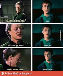 professor mcgonagall being awesome harry potter jokes harry
