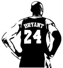 Kobe Bryant Vinyl Decal Sticker Basketball Lakers 24 8 Car Window Laptop Cup Ebay
