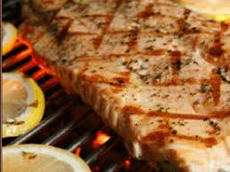 Wasabi Grilled Swordfish Steak Recipe ...
