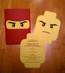 Die Besten Von Ninjago Einladungskarten Vorlage Kostenlos