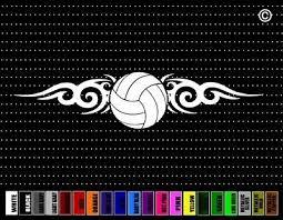 Volleyball Tribal Car Sticker Window Vinyl Decal Dad Mom Family Coach School Ebay