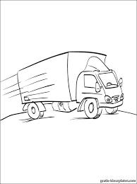 Vrachtwagen Kleurplaat Gratis Kleurplaten