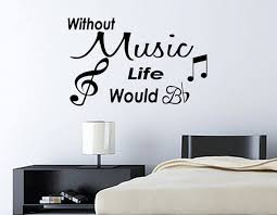 Music Wall Decals For Girls Room Music Wall Decal Music Wall Wall Decals