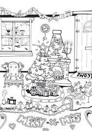 Kerst Kleurplaat Kerstkleurplaat Mirelle Creametkids