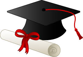 Graduation Cap and Diploma - Free Clip Art | Graduation cap clipart,  Graduation clip art, Graduation cap