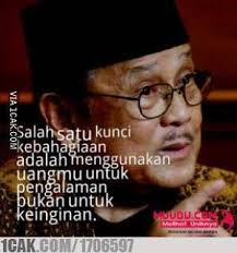 quote b j habibie for fun only