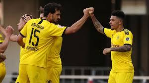 Sancho breaks English and Bundesliga records with Borussia ...