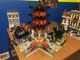 Inner Corner Modular Base MOC for 70751 Temple of Airjitzu : lego