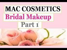 mac cosmetics bridal makeup review