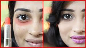 cover dark under eye circles using
