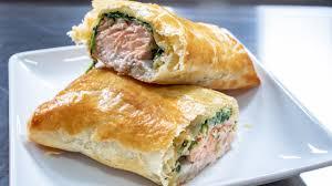 Easy Salmon En Croute Recipe - YouTube