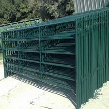 Wholesale Design Sheep And Goat Farm Fencing 6 Oval Tubular Bar 2 Square Tube Bar Cattle Fence Panels With Pins Buy Portable Sheep Fence Panels Steel Tube Fence Panels Goat Fence Panel For Sale
