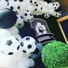 Diseno De Arco Organico Para Cumpleanos De Futbol Cumpleanos