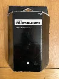 burton snowboard wall mounts black