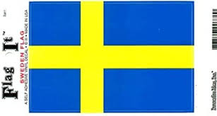 Amazon Com Sweden Flag Decal For Auto Truck Or Boat Automotive