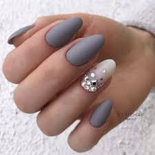 40 must try grey acrylic nails