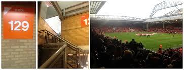 seats at anfield lfc v saints