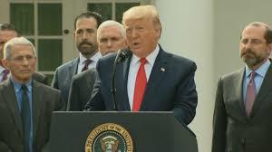 President Trump Announces Coronavirus ...