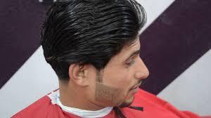 طريقة قص الشعر مدرج للرجال