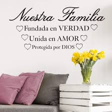spanish our family truth joined in love kept by god bible verse
