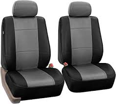 pu leather car front bucket seat covers