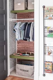 Small Kids Closet Makeover With Organization Cherished Bliss