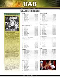 2013 UAB Volleyball Information Guide by UAB Athletics - issuu