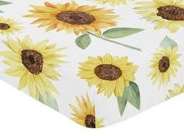 white sunflower boho fl girl baby