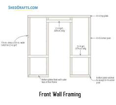 8 10 timber frame garden shed plans