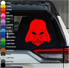 Darth Vader Star Wars Car Decal Crazy4decals