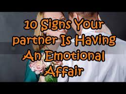 partner is having an emotional affair